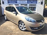 2013 RENAULT SCENIC 1.6 GRAND DYNAMIQUE TOMTOM DCI S/S 5d 130 BHP £11000.00