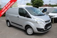 USED 2015 15 FORD TRANSIT CUSTOM 2.2 290 TREND LR P/V 1d 125 BHP 3 Seats, One Owner, Finance Arranged.