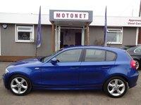 2010 BMW 1 SERIES 2.0 118D SPORT 5DR HATCHBACK DIESEL 141 BHP £5640.00