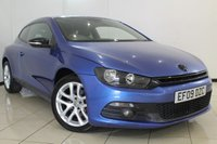 USED 2009 09 VOLKSWAGEN SCIROCCO 2.0 GT DSG 3DR AUTOMATIC 200 BHP SERVICE HISTORY + 0% FINANCE AVAILABLE T&C'S APPLY + BLUETOOTH + MULTI FUNCTION WHEEL + CLIMATE CONTROL + 18 INCH ALLOY WHEELS