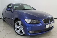 USED 2007 07 BMW 3 SERIES 3.0 335D SE 2DR AUTOMATIC 282 BHP FULL SERVICE HISTORY + 0% FINANCE AVAILABLE T&C'S APPLY + LEATHER SEATS + CLIMATE CONTROL + SAT NAVIGATION + PARKING SENSOR + BLUETOOTH + CRUISE CONTROL + MULTI FUNCTION WHEEL + 17 INCH ALLOY WHEELS