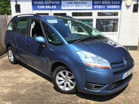 USED 2010 60 CITROEN C4 PICASSO 1.6 GRAND VTR PLUS HDI 5d 107 BHP 33K FSH  TWO FAMILY OWNERS  PANORAMIC WINDSCREEN  EXCELLENT CONDITION