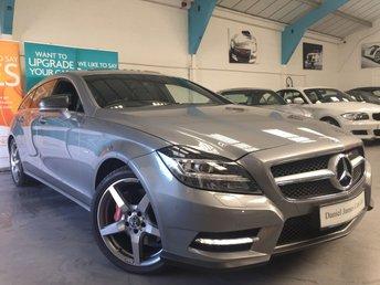 2013 MERCEDES-BENZ CLS CLASS 3.0 CLS350 CDI BLUEEFFICIENCY AMG SPORT 5d AUTO 262 BHP £22990.00