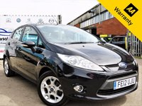 USED 2012 12 FORD FIESTA 1.2 ZETEC 5d 81 BHP! p/x welcome! DEALERSHIP HISTORY! AUX PORT! HEATED WINDSCREEN! NEW MOT & PDI REPORT!  DEALERSHIP SERVICE HISTORY! LOW MILEAGE! 2 OWNERS! AUX PORT! NEW MOT! PDI REPORT (RAC approved) AA WARRANTY & ROADSIDE COVER! FINANCE AVAILABLE!