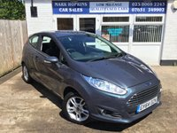 USED 2014 64 FORD FIESTA 1.2 ZETEC 3d 81 BHP 35K FSH  JUST ONE LADY OWNER  EXCELLENT CONDITION