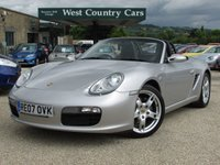 USED 2007 07 PORSCHE BOXSTER 2.7 24V 2d 242 BHP Excellent Condition With Many Must Have Options