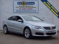 USED 2009 09 VOLKSWAGEN CC 2.0 CC TDI DSG 4d AUTO 138 BHP Full Service History HPI Clear   0% Deposit Finance Available