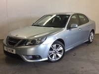 USED 2011 11 SAAB 9-3 1.9 TURBO EDITION TTID 4d AUTO 180 BHP LEATHER FSH FACELIFT MODEL. STUNNING SILVER MET WITH FULL BLACK LEATHER TRIM. HEATED SEATS. CRUISE CONTROL. 17 INCH ALLOYS. COLOUR CODED TRIMS. PARKING SENSORS. BLUETOOTH PREP. CLIMATE CONTROL. TRIP COMPUTER. R/CD/MP3 PLAYER. MOT 06/18. ONE PREV OWNER. FULL SERVICE HISTORY. TEL 01937 849492.