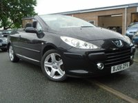 USED 2006 06 PEUGEOT 307 2.0 SE COUPE CABRIOLET HDI 2d 136 BHP DIESEL CONVERTIBLE+LEATHER