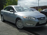 USED 2007 57 FORD MONDEO 2.0 GHIA TDCI 4d 140 BHP TOP SPEC DIESEL + GREAT VALUE+MOT JAN 2018