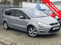 USED 2011 61 FORD S-MAX 2.0 TITANIUM TDCI 5d 161 BHP PRICE INCLUDES A 6 MONTH RAC WARRANTY, 1 YEARS MOT WITH A OIL & FILTERS SERVICE AND 12 MONTHS FREE BREAKDOWN COVER