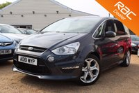 USED 2011 61 FORD S-MAX 2.0 TITANIUM X SPORT TDCI 5d 161 BHP Pan roof, Sony stereo & more