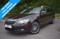 USED 2014 14 SKODA SUPERB 2.0 ELEGANCE TDI CR LAURIN AND KLEMENT DSG 5d AUTO 168 BHP 1 OWNER! 4x4! TOP SPEC L&K WITH FSSH! PAN ROOF! NAV! HUGE SPEC!