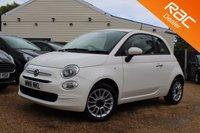 USED 2016 16 FIAT 500 1.2 POP STAR 3d 69 BHP Fiat Warranty, 2 years MOT