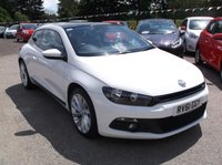 USED 2011 61 VOLKSWAGEN SCIROCCO 2.0 GT TDI BLUEMOTION TECHNOLOGY 2d 140 BHP Sleek and stylish with full VW service history.