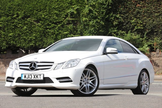 2013 13 MERCEDES-BENZ E CLASS 2.1 E250 CDI BLUEEFFICIENCY S/S SPORT 2d AUTO 204 BHP