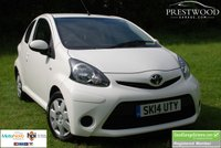 USED 2014 14 TOYOTA AYGO 1.0 VVT-i MOVE [68 BHP] 3 Door Hatchback * ECO *