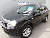 2006 HYUNDAI TUCSON 2.0 LIMITED 5d 139 BHP 101000 MILES, FULL LEATHER CLIMATE £3295.00