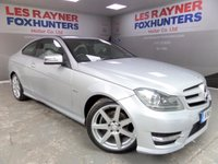 USED 2011 61 MERCEDES-BENZ C 220 2.1 C220 CDI BLUEEFFICIENCY AMG SPORT ED125 2d AUTO 170 BHP DAB radio , Bluetooth , Xenons , Sat Nav