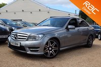USED 2013 13 MERCEDES-BENZ C CLASS 2.1 C220 CDI BLUEEFFICIENCY AMG SPORT PLUS 4d 168 BHP sat nav, bluetooth & more