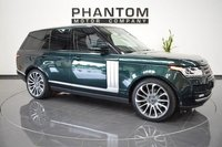 USED 2013 63 LAND ROVER RANGE ROVER 3.0 TDV6 VOGUE 5d AUTO 258 BHP