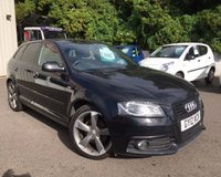 USED 2012 12 AUDI A3 2.0 SPORTBACK TDI S LINE SPECIAL EDITION 5d 138 BHP STUNNING LOCAL EXAMPLE