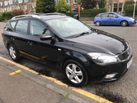 USED 2010 60 KIA CEED 1.6 CRDI 2 SW 5d 114 BHP PRICE INCLUDES A 6 MONTH AA WARRANTY DEALER CARE EXTENDED GUARANTEE, 1 YEARS MOT AND A OIL & FILTERS SERVICE. 12 MONTHS FREE BREAKDOWN COVER