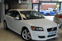 USED 2008 08 VOLVO C30 1.6 D SPORT 3d 110 BHP 0% FINANCE AVAILABLE T&C'S APPLY + HALF LEATHER SEATS + FULL SERVICE HISTORY + CRUISE CONTROL + 17 INCH ALLOYS + ELECTRIC WINDOWS