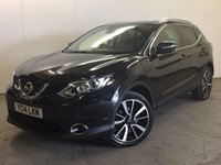 USED 2014 14 NISSAN QASHQAI 1.5 DCI TEKNA 5d 108 BHP SAT NAV PANORAMIC ROOF LEATHER ONE OWNER FSH £0 YEAR ROAD TAX. 74 MPG. FACELIFT MODEL. SATELLITE NAVIGATION. PANORAMIC SUNROOF. STUNNING BLACK WITH FULL BLACK LEATHER TRIM. ELECTRIC HEATED SEATS. CRUISE CONTROL. 19 INCH ALLOYS. COLOUR CODED TRIMS. PRIVACY GLASS. PARKING SENSORS. 4 POINT REVERSING CAMERA. BLUETOOTH PREP. CLIMATE CONTROL. TRIP COMPUTER. R/CD PLAYER. 6 SPEED MANUAL. MFSW. TOWBAR. MOT 04/18. ONE OWNER FROM NEW. FULL SERVICE HISTORY. PRISTINE CONDITION. FCA FINANCE APPROVED DEALER. TEL 01937 849492.