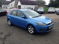 USED 2009 59 FORD FOCUS 1.6 ZETEC 5d 100 BHP PRICE INCLUDES A 6 MONTH RAC WARRANTY, 1 YEARS MOT AND A OIL & FILTERS SERVICE AND 12 MONTHS FREE BREAKDOWN COVER.