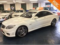 USED 2008 58 MERCEDES-BENZ CL 63 AMG 6.3 V8 AMG COUPE ONLY 63K - FMSH - SOFT CLOSE DOORS - SUNROOF - T.V