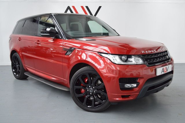 2014 63 LAND ROVER RANGE ROVER SPORT 4.4 AUTOBIOGRAPHY DYNAMIC 5d AUTO 339 BHP