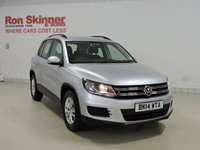 USED 2014 14 VOLKSWAGEN TIGUAN 2.0 S TDI BLUEMOTION TECHNOLOGY 5d 138 BHP