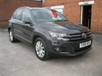 2015 VOLKSWAGEN TIGUAN 2.0 MATCH TDI BLUEMOTION TECHNOLOGY  £SOLD