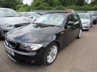USED 2011 11 BMW 1 SERIES 2.0 120D M SPORT 5d AUTO 175 BHP