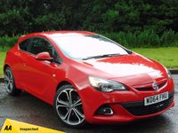 USED 2015 64 VAUXHALL ASTRA 1.4 GTC LIMITED EDITION S/S 3d 118 BHP MANUFACTURERS WARRANTY UNTIL JAN 2018, 128 POINT AA INSPECTED
