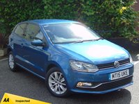 USED 2015 15 VOLKSWAGEN POLO 1.2 SE TSI DSG 3d AUTO 128 POINT AA INSPECTED