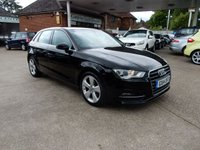 USED 2014 14 AUDI A3 1.6 TDI SPORT 5d 104 BHP FULL LEATHER,AUDI HISTORY,FREE TO TAX