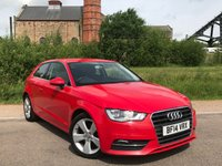 USED 2014 14 AUDI A3 1.6 TDI SPORT 3d 104 BHP (8 Main Dealer Services)