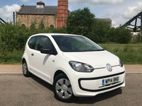 USED 2014 VOLKSWAGEN UP 1.0 TAKE UP 3d 59 BHP Great First Car!