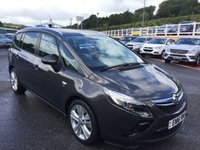USED 2016 16 VAUXHALL ZAFIRA TOURER 2.0 SRI CDTI 5d AUTO 168 BHP 7 Seats, only 5,000 miles & new throughout with Bluetooth telephone