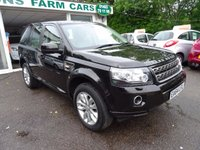USED 2014 64 LAND ROVER FREELANDER 2 2.2 TD4 SE 5d 150 BHP One Owner from new, Land Rover Service History + Just Serviced by ourselves, NEW MOT (to be completed), Four Wheel Drive, Diesel, Four New Tyres