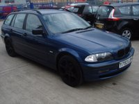 USED 2001 Y BMW 3 SERIES 1.9 318I SE TOURING 5d 117 BHP MOT SERVICE WARRANTY FINANCE