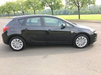 USED 2013 13 VAUXHALL ASTRA 1.4 ENERGY 5d 98 BHP EXCELLENT MPG, CHEAP ROAD TAX