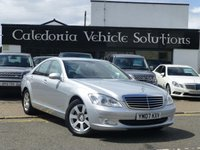 USED 2007 07 MERCEDES-BENZ S CLASS 3.0 S320 CDI 4d AUTO 231 BHP STUNNING EXAMPLE OF  LUXURY