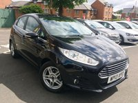 USED 2013 13 FORD FIESTA 1.0 ZETEC 5d 99 BHP EXCELLENT FUEL ECONOMY!!..LOW CO2 EMISSIONS(99G/KM)...£0 ROAD TAX..FULL HISTORY(4 SERVICES AT 4 MAIN DEALERS) ..ONLY 3400 MILES FROM NEW!!..WITH PARKING SENSORS!!