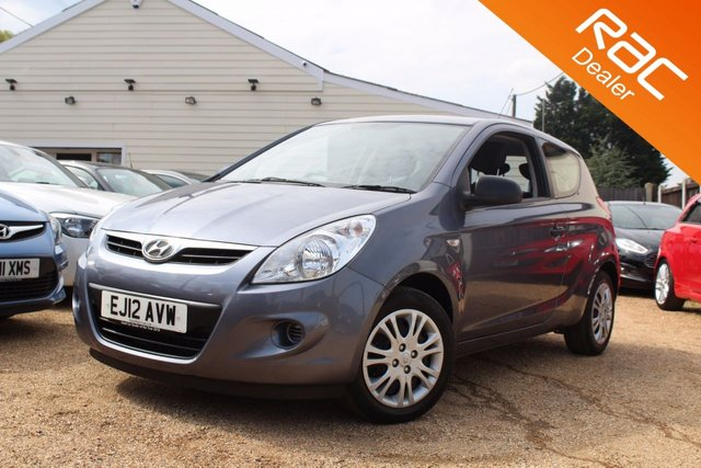 View our 2012 12 HYUNDAI I20 1.2 CLASSIC 3d 77 BHP