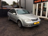 USED 2005 55 CHEVROLET LACETTI 1.8 CDX 4d 121 BHP