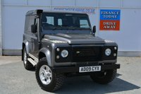 USED 2009 09 LAND ROVER DEFENDER 2.4 90 COUNTY HARD TOP 1d 122 BHP GETTING RARER DEFENDER 90 COUNTY IN GREY METALLIC... GET IT WHILE YOU CAN...