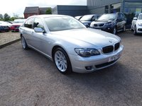 USED 2007 57 BMW 7 SERIES 3.0 730D SE 4d AUTO 228 BHP 7 SERVICE STAMPS JUST HAD PDI SERVICE BY OURSELVES 2 KEYS SERVICED AT 18264M 33455M 54705M 61919M 85768M 98000M FACTORY EXTRAS INCLUDE £845 HEATED FRONT SEATS £300 CD CHANGERS 6 CD £295 HIGH BEAM ASSISTANT £95 BLACK NASCA LEATHER TITANIUN SILEVR METALIC FACTORY EXTRAS COST £1535 COST NEW £52535